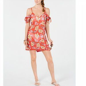Miken Juniors' Printed Cold-Shoulder Cover-up